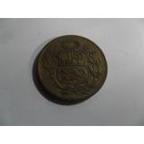 Numismatica Moneda Peruana Peru Sol De Oro