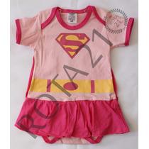 Body Fantasia Super Girl Para Bebês