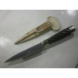 Cuchillo Inoxidable 15 Cm El Lapacho Mr Gallón Y Vaina