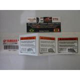 Etiqueta Advertência Tanque Xt 660r Xt 660 Orig Yamaha