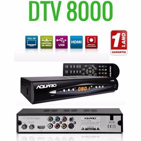 Conversor Digital Dtv 8000 Função Gravar