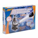 Mi Alegria Telescopio Y Microscolpio Set