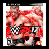 Wwe 2k17 Ps3 Acreditacion Inmediata Oxxo