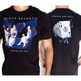 Camiseta Black Sabbath Heaven Ln105 Consulado Do Rock Camisa