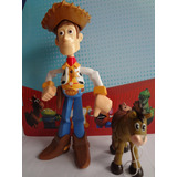 Boneco Wood + Bala Toy Story 4 Disney Collection 25 Cm.