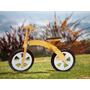 Bicicleta Sin Pedales De Inicio Madera 2 A 5 Años Blanca