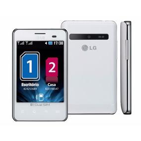 Lg Optimus L3 E405 Chip 3g Wifi Gps Mp3+fm 2gb+cartão 8gb