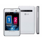 Lg Optimus L3 E405 Chip 3g Wifi Gps Mp3+fm 2gb+cartão 8gb