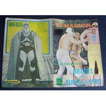 Lucha Libre, Brazos Vs Super Astro, Revista 1985