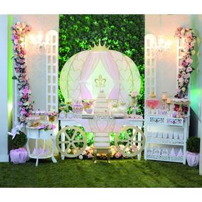 Kit Decoração Festa Princesa Até 24 Conv - 270 Itens