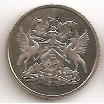 Trinidad Y Tobado, 10 Cents, 1966. Proof