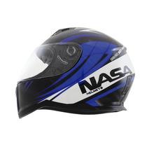 Capacete Nasa Sh-881 Valencia Azul (lançamento)