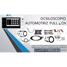 Hantek Osciloscopio Automotriz 4 Ch 70 Hrz