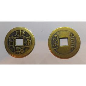 0101 C - Moeda Chinesa Antiga Feng Shui Sorte / Fortuna