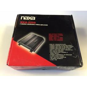 Amplificador De Potencia Naxa 2 Canais Modelo Nxa2250 Bridge