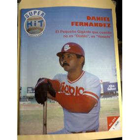 Beisbol México Super Hit Daniel Fernández Diablos Rojos 1998