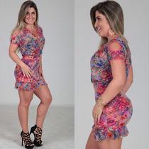 Vestido Babado Crepe Soltinho Verão Est Labellamafia Panicat