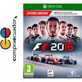 F1 2016 Xbox One Formula 1 2016 Xboxone Juego Físico