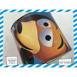 Alcancía Lata Giratoria Souvenir Personaliza Toy Story Perro