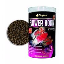 Ração Tropical Flower Horn Young Pellet - Pote 380g