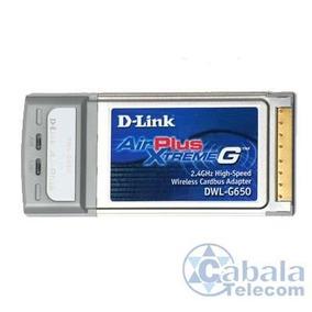 Placa Pci D-link Airplus Xtreme G+ Dwl-g650+ Nova