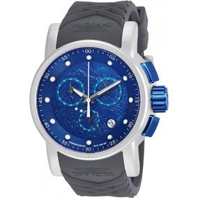 67b16ad52f6 Carregador Original Blue - Relógio Invicta Masculino no Mercado ...