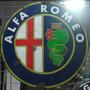 Cartel De Chapa Antiguo Alfa Romeo