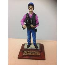 Joaquin El Chapo Guzman Narco/ Figura De Resina De Colección