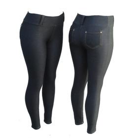 Kit C/ 5 Calça Legging Malha Jeans Atacado Frete Gratís