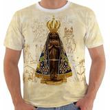 Camisa Camiseta Babylook Regata Nossa Senhora Aparecida Cor