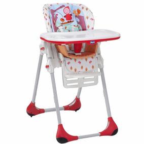 Cadeira Cadeirão Alimentação Polly Em Vermelha Chicco