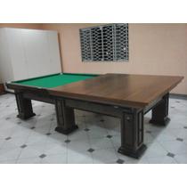Mesa Bilhar / Sinuca E Jantar Snooker Profissional Cores
