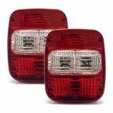 Lanterna Traseira Caminhão Volkswagem Ford Cargo Troller Par