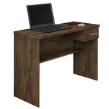 Escrivaninha Mesa Para Computador Anaí 1 Gaveta Cacau Jcm