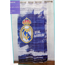 Real Madrid Cortina Recamara Futbol Regalo Decoracion Bano