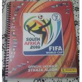 Album Panini South Africa 2010 Lleno, Engargolado