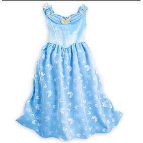 Disney Store Camisón Vestido Cenicienta Disfraz Lv Importado