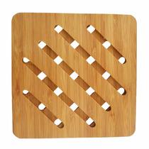 Descanso De Mesa Em Bambu 16,7cm - Clink