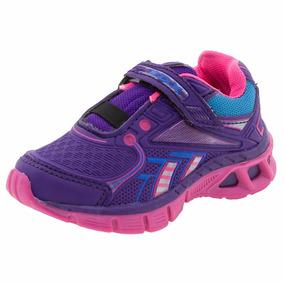 Tênis Infantil Feminino Rdx Pink/uva