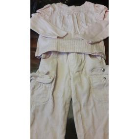 Pantalón Y Franela Para Niña
