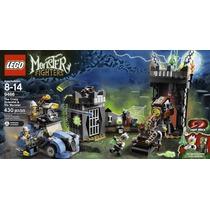 Lego 9466 Monster Fighters Cientista Louco - Pronta Entrega