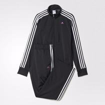 Conjunto Deportivo Pants + Chamarra Adidas Dama Original S M