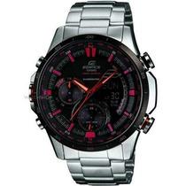 Relógio Casio Edifice Anadigi Era-300db-1avdr Preto/vermelho