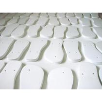 Chinelo Para Sublimar Kit Com 100 Pares Resinado - Original