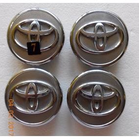 Centros Rin Toyota Yaris(04-14) Corolla(09-13) Juego 4 Pzas.