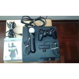 Consola Ps3 160gb + 6 Juegos, Todo Incluido
