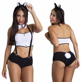 Fantasia Sexy Coelhinha Da Playboy Completa