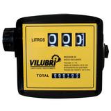 Medidor Mecânico 3 Digitos Óleo Diesel / Solvente Vilubri