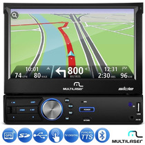Central Multimídia Multilaser Retrátil 7 Tv Digital Gps Tts