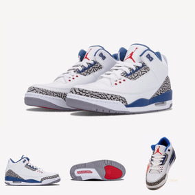 Zapatillas Air Jordan 3 Retro | True Blue 2013 100% Original